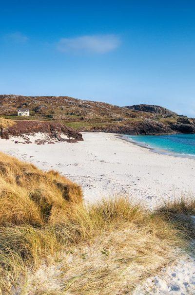 Clachtoll Beach in Scotland